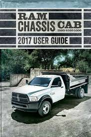 2017 RAM Commercial Chassis Cab User's Guide