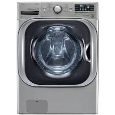 High Efficiency Clothes Washers Lg Electronics 52 Cu Ft High Efficiency Front Load Washer With