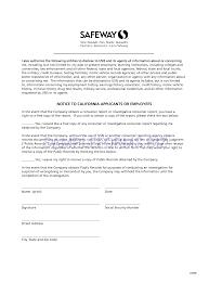 Safeway Job Application Best Solutions Of Safeway Job Resume