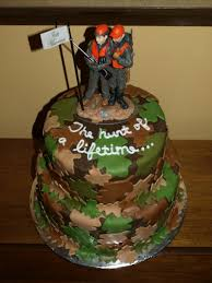 Hunting Grooms Cakes Ideas 11643 Groomscake Hunting Camo G