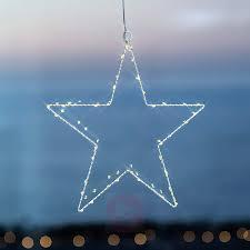 Weihnachtlicher Deko Stern Led Liva Star Weiß 30