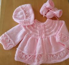 Hand Knitted Sweaters Designs For Baby Girl Pin On Baby Sweater Sets