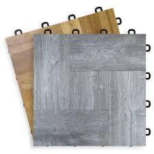 interlocking floor tiles wood vinyl top t7us fan view