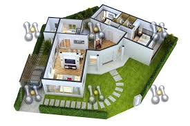 3d floor plan for 2 bedroom house luxury simple house plan with 2 bedrooms 3d ideas