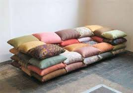 Piled Pillow Seating