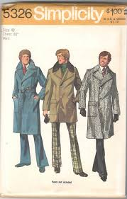 Mens Trench Coat Pattern