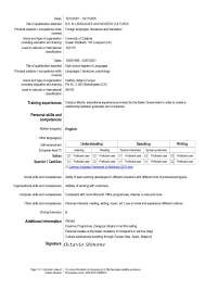 European Resume For Hospitality And Tourism Administration Job 2