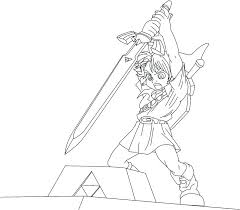 Toon Link Drawing At Getdrawingscom Free For Personal Use Toon