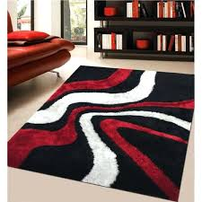 modern rug addiction hand tufted polyester red and black area white rugs canada ultimate classic for your room