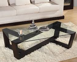 coffee table wonderful black rectangle unique glass wood glass top coffee tables varnished design