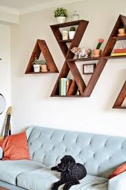 Learn How to Mix Patterns | Diy wall shelves, Triangle shelf and ...