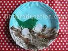 Поделки из природных материалов птица и гнезде