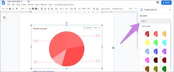 How To Put Pie Chart In Google Docs And 9 Ways To Customize It