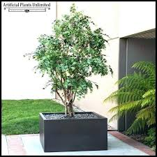 outdoor fake plants in pots large faux h m s remaining artificial trees to enlarge f outdoor fake plants