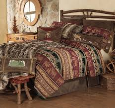 Rustic Bedding & Cabin Bedding Black Forest Decor Throughout Lake Themed  Bedding