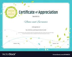 Certificates Of Appreciation 002 Certificate Employee Of Appreciation Template Free