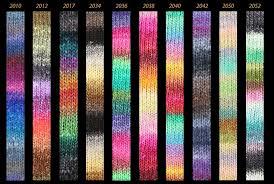 Noro Kureyon Color Card Noro Yarn Fantastic Colours