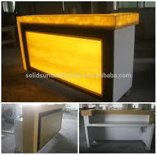 fashion design stone nail bar furniture  salon bar counter