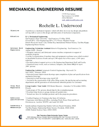 resumes for mechanical engineers resume mechanical engineer resume sample