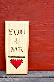 this diy rustic woodburning keepsake gift idea is a fun and easy project for valentine s day