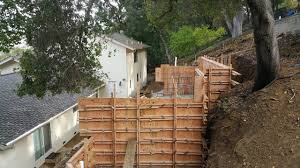 how to build a concrete retaining wall all access 510 701 4400 you