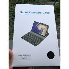 Bao da kèm bàn phím cho máy tính bảng samsung galaxy Tab S6 lite 10.4 inch  P610/P615- Chính hãng