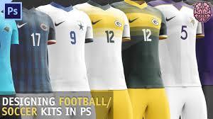 Soccer Kit Designer Tutorial Football Soccer Kit Design Photoshop Cc By Qehzy