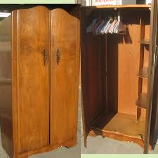 clothing armoire for narrow space — liberty interior