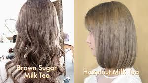 Light Hazelnut Brown Hair Color 15 Milk Tea Hair Color Ideas To Copy