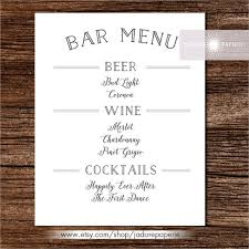 24+ Bar Menu Templates – Free Sample, Example Format Download With ...