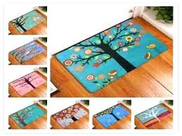 teal kitchen rug e waterproof floor mat cartoon feather kitchen rugs for teal rug red and teal kitchen rug