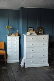 White Bedroom Furniture, Tall Boy, Slim Chest Of Drawers, Alcove, Recess,
