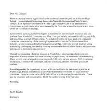 Primary Teacher Cover Letter Secondary Teacher Cover Letter Australia School Education Primary