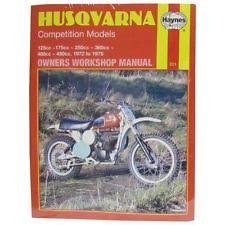 husqvarna motorcycle manuals and literature manual haynes for 1974 husqvarna wr 250