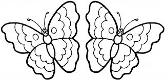 Small Picture Flower And Butterfly Coloring Pages aecostnet aecostnet