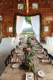 Rustic Wedding Table Settings Dining Table