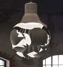 artistic lighting. terrific artistic lighting the scheisse explodingn light bulb from northern s