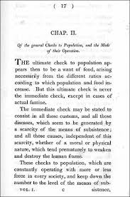 essay on the principle of population  an essay on the principle of population 1817