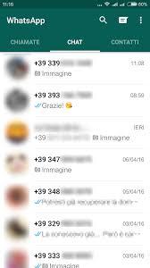 Non ci sono più i nomi nelle chat di Whatsapp: soluzione ...
