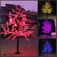 Purple Led Christmas Lights Led Christmas Light Cherry Blossom Tree Led Bulbs 1 5m 5ft Height Indoor Or Outdoor Use Drop Shipping Rainproof Christmas Decorations To Buy Online
