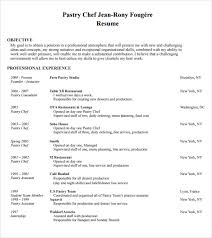 Gallery Of 9 Chef Resume Templates Download Documents In Pdf Chef