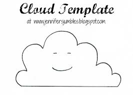 Toy Story Clouds Template Cloud Template Cliparts Co