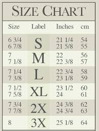 17 Hand Picked Scala Hat Size Chart