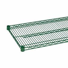 green wet dry wire shelf 18 deep x 72 wide