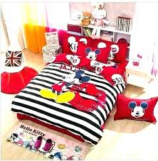 mickey mouse comforter set mickey mouse comforter set queen 3 4 cotton bedding sets cartoon bed