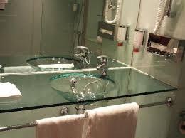 glass bathroom sinks. Slight Glass Bathroom Sinks A