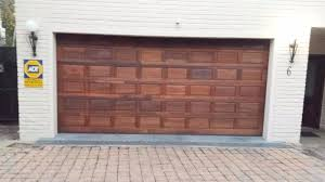 wooden garage door panels for