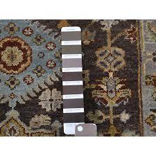 2 7 x10 pure wool karajeh design hand knotted oriental runner rug