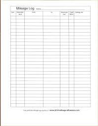 Mileage Sheet For Taxes Glotro Co