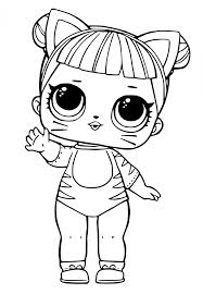 Pet Coloring Page Eskayalitim Lol Surprise Doll Pages Glitter